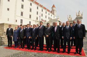 La cumbre informal en Bratislava, foto: ČTK