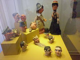 Z výstavy oloutkářství za druhé světové války, foto: Zdeňka Kuchyňová