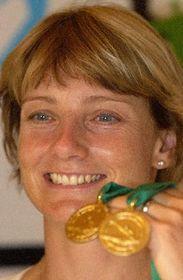 La doble campeona olímpica, Stepánka Hilgertová, foto: CTK