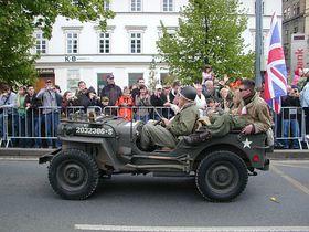 Oslavy osvobození Plzně, foto: Martina Schneibergová