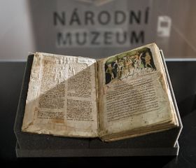 Le Musée National de Prague expose depuis vendredi au public le manuscrit de Bautzen de la Chronique de Cosmas, photo: CTK