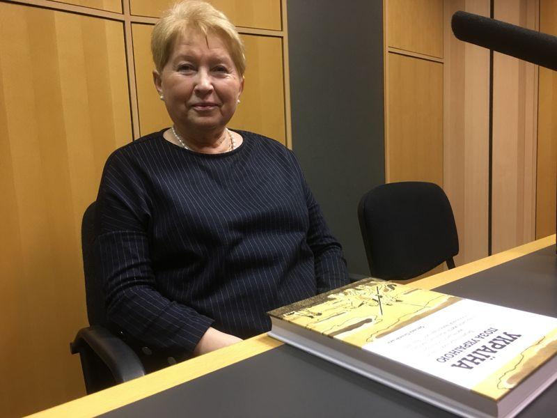 славист и культуролог Оксана Пеленская (Пеленська), фото: Катерина Айзпурвит