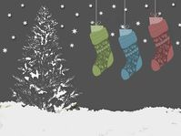 Nikolausstrumpf - mikulášská ponožka (Foto: emmagrau, Pixabay / CC0)