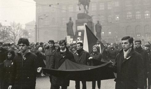 Jan Palach's funeral, photo: archive of Czech Radio