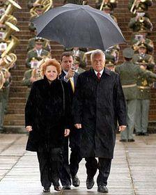 Vlasta Parkanová aprezident Václav Klaus, foto: ČTK