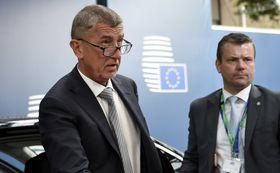 Andrej Babiš, photo: ČTK/AP/John Thys