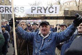 Los manifestantes piden la dimisión del primer ministro  (Foto: CTK)