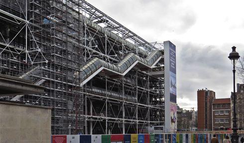 Centre Pompidou, photo : Gabriel de Andrade Fernandes, Flickr, CC BY-SA 2.0