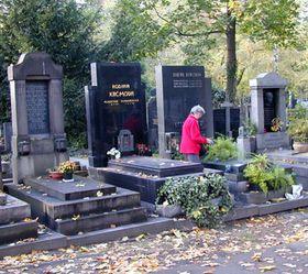 Friedhof in Olšany (Foto: Archiv des Tschechischen Rundfunks - Radio Prag)