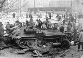 Hungarian Revolution in 1956, photo: ismeretlen, CC BY-SA 3.0