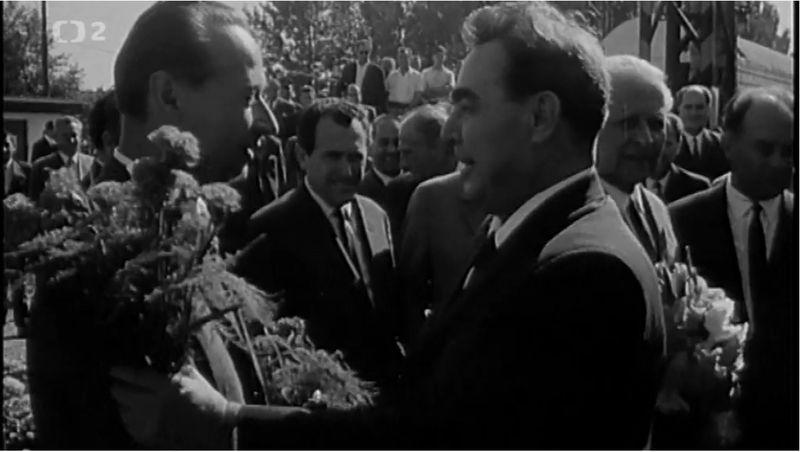 Dubček und Brezhnev (Foto: Archiv des Tschechischen Fernsehens)