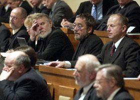 Los diputados checos (Foto: CTK)