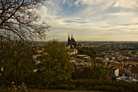 Brno - view from Špilberk Park, photo: Vít Pohanka