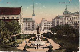Kaiser Josef II. Denkmal auf dem Mährischen Platz (Foto: Anton Brenek, Public Domain)