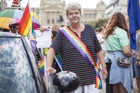 Jana Kociánová (Foto: Prague Pride)