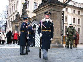 Prague Castle guard, photo: Kristýna Maková