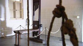 Гильотина в пражской панкрацкой тюрьме (Фото: ЧТ24)