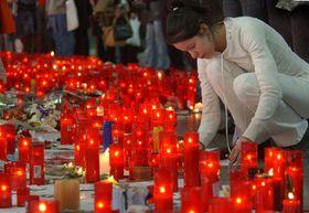 Cinco días después de los atentados terroristas en Madrid (Foto: CTK)