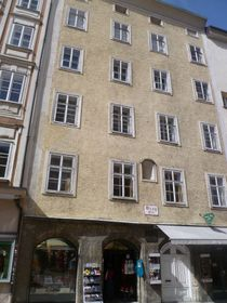 The house in Salzburg where Barbara Krafft lived with her children, photo: Luckyprof, Wikimedia Commons, CC BY-SA 3.0 AT