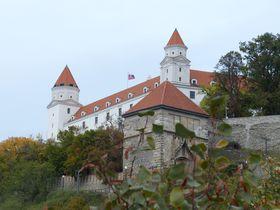 Castillo de Bratislava, foto: Klára Stejskalová