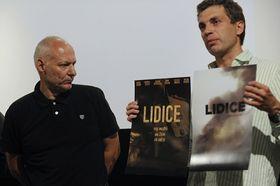 Le réalisateur Petr Nikolaev et Adam Dvořák, photo: CTK