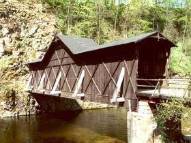 Деревянный мост в Быстрой-на-Йизере, Фото: официальный сайт города Фридлант