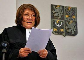 La juge Eliška Wagnerová, photo: CTK