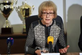 Helena Válková, photo: Filip Jandourek / Czech Radio