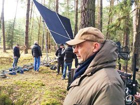 Вацлав Маргоул на съемках фильма, фото: Томаш Маржас, Архив Чешского Радио