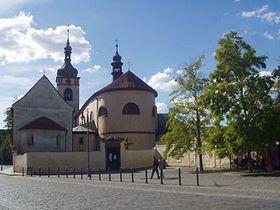 St Wenceslas' Basilica in Stara Boleslav
