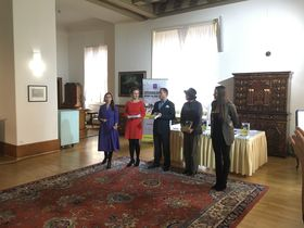 Launch of the book at Prague's Czernin Palace, photo: Tom McEnchroe
