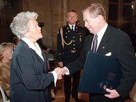 Marie Dubinova et Vaclav Havel, photo: CTK