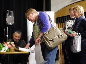 Людмила Улицкая представила свой роман «Зеленый шатер» в чешском переводе, Фото: Лорета Вашкова, Чешское радио - Радио Прага