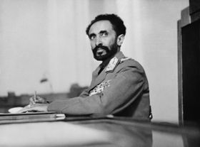 Haile Selassie, photo: Library of Congress, Public Domain