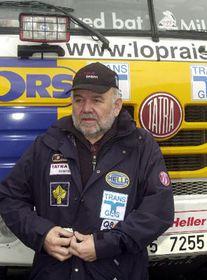 El experimentado piloto checo, Karel Loprais, foto: CTK