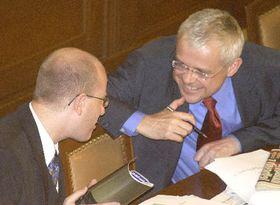 Koaliční vláda premiéra Vladimíra Špidly může pokračovat vpráci..., foto: ČTK