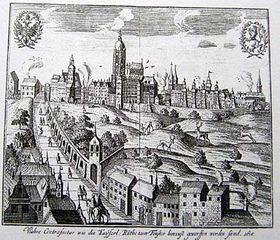 Castillo de Praga, 1618