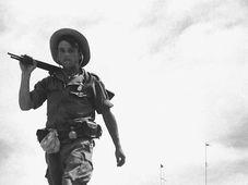 Französische Fremdenlegionäre im Indochinakrieg