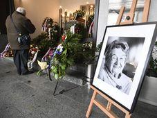Les obsèques de Miloslava Kalibová, photo: ČTK/Michal Kamaryt