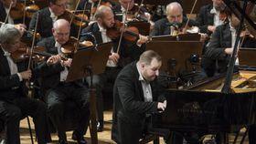 Concierto de la Orquesta Sinfónica de la Radio Checa  con Lukáš Vondráček, foto: Archivo de SOČR