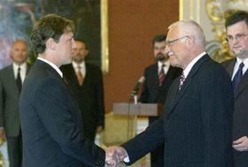 Станислав Гросс посетил в понедельник президента Клауса два раза (Фото: ЧТК)