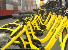 Des bicyclettes Ofo, photo: ČT24
