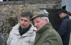 Jan Fischer (links). Foto: Rybářství Třeboň a. s.