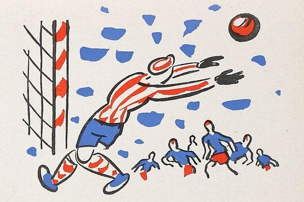 Ilustrace od Josefa Čapka z knihy Klapzubova jedenáctka, nakl. SNDK, CC0