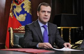 Dmitri Medvedev, photo: CTK