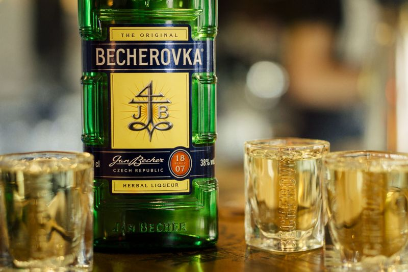 Photo: archive of Jan Becher - Karlovarská Becherovka