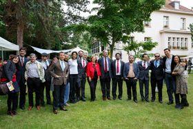 Profesores de las secciones bilingües. Foto: Embajada de Espaňa