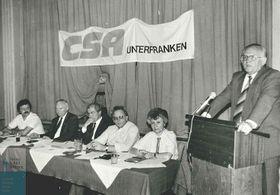 Fritz Pirkl (rechts). Foto: Archiv für Christlich-Soziale Politik,  Hanns-Seidel-Stiftung