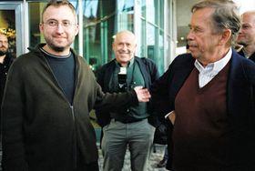 Jan Hrebejk y Václav Havel