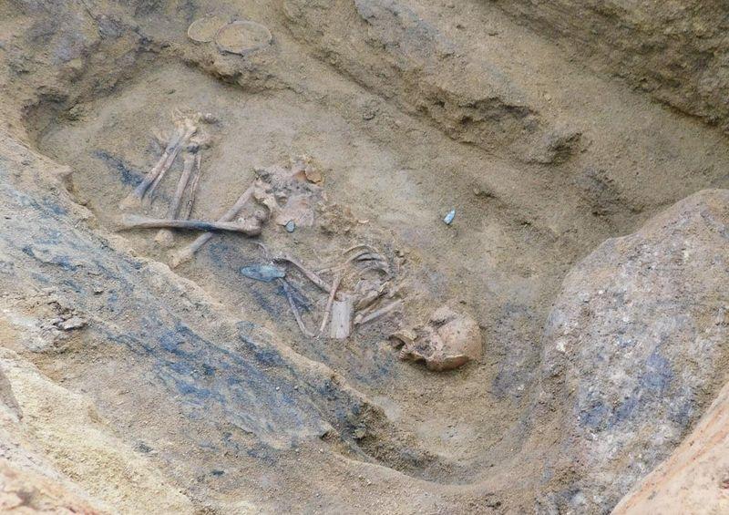 La sépulture d'un seigneur local d'origine germanique, photo: Archeologický ústav AV ČR